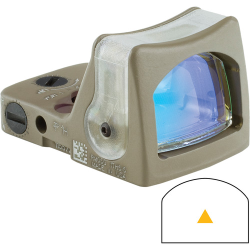 Trijicon RM08 Dual-Illuminated RMR Reflex Sight (Amber Reticle, Flat Dark Earth)