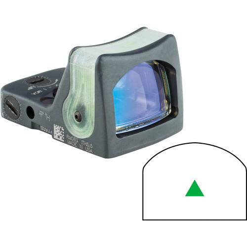 Trijicon RM08 Dual-Illuminated RMR Reflex Sight (Green Reticle, Sniper Gray)