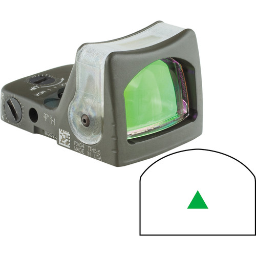 Trijicon RM08 Dual-Illuminated RMR Reflex Sight (Green Reticle, OD Green)