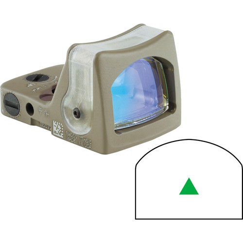 Trijicon RM08 Dual-Illuminated RMR Reflex Sight (Green Reticle, Flat Dark Earth)