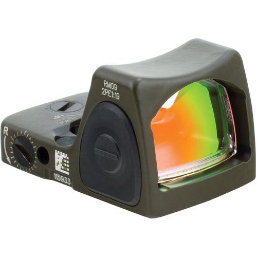 Trijicon RM09 RMR LED Reflex Sight (1 MOA Red Dot, OD Green)