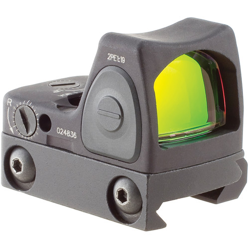 Trijicon RM09 RMR LED Reflex Sight with RM33 Mount (1 MOA Red Dot, Matte Black)