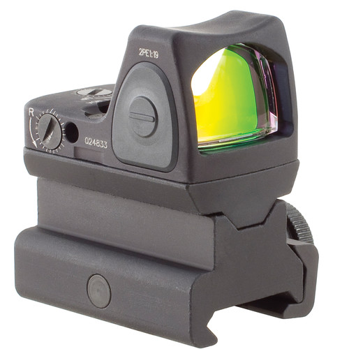 Trijicon RM09 RMR LED Reflex Sight with RM34 Mount (1 MOA Red Dot, Matte Black)