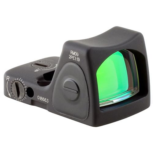 Trijicon RM09 RMR Type 2 Adjustable LED Reflex Sight (1.0 MOA Red Dot, Matte Black)