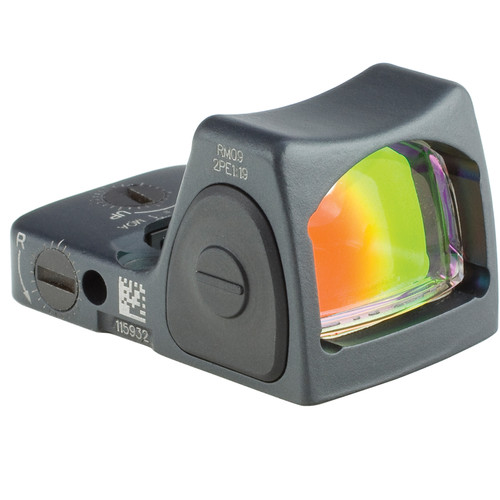 Trijicon RM09 RMR LED Reflex Sight (1 MOA Red Dot, Sniper Gray)
