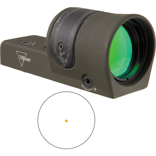 Trijicon RX30 Reflex Sight 6.5 MOA Amber Dot (OD Green)