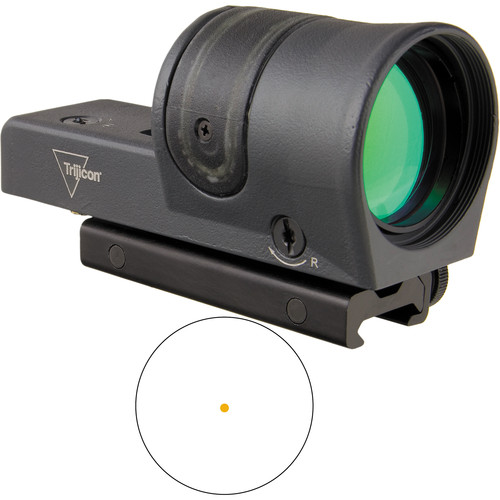 Trijicon RX30 Dual-Illuminated Reflex Sight (6.5 MOA Amber Dot Reticle, Sniper Grey)