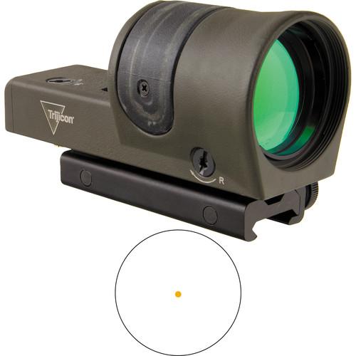 Trijicon RX30 Dual-Illuminated Reflex Sight (6.5 MOA Amber Dot Reticle, OD Green)
