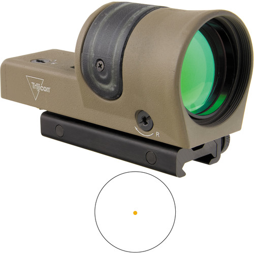 Trijicon RX30 Dual-Illuminated Reflex Sight (6.5 MOA Amber Dot Reticle, Flat Dark Earth)