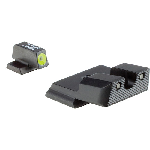 Trijicon Compact HD Night Sight for  S&W M&P Shield Pistol (Black/Yellow Front Dot)