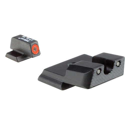 Trijicon Compact HD Night Sight for S&W M&P Shield  Pistol (Black/Orange Front Dot)