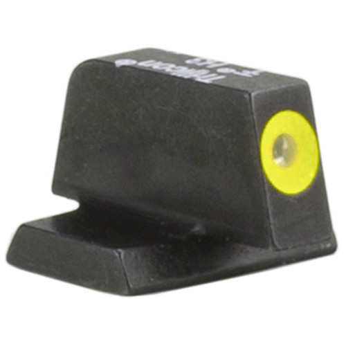 Trijicon HD XR Front Sight for Smith & Wesson M&P Pistols (Yellow Outline Disk, Matte Black)
