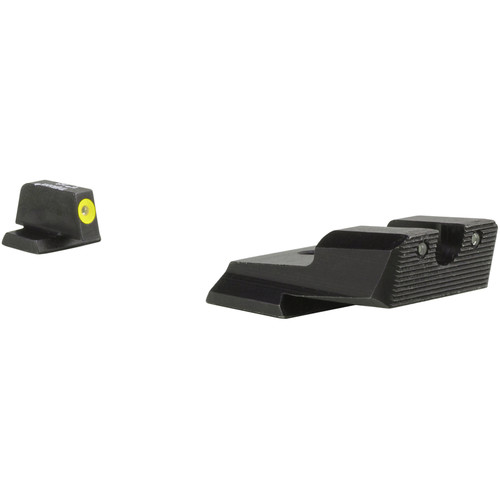 Trijicon Smith & Wesson Shield HD XR Night Sight Set (Yellow Front Ring)