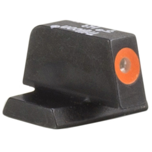 Trijicon HD XR Front Sight for Smith and Wesson Shield Pistols (Orange Outline Disk, Matte Black)