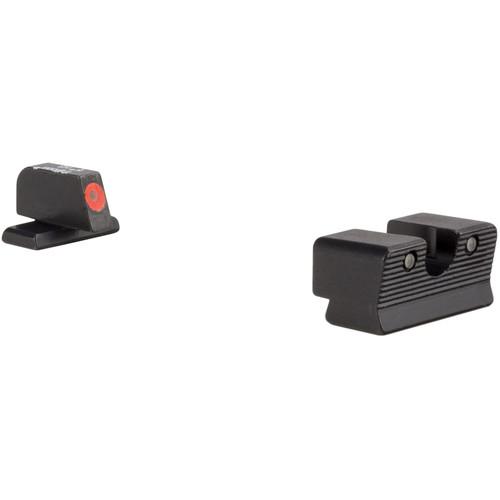 Trijicon Sig Sauer 9mm / .357 SIG HD XR Night Sight Set (Orange Front Rings)