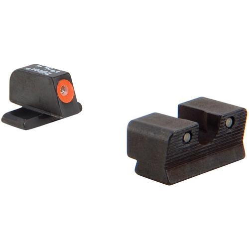 Trijicon HD Night Sight Set for Springfield XDS Pistol (Orange Front Disk, Matte Black)