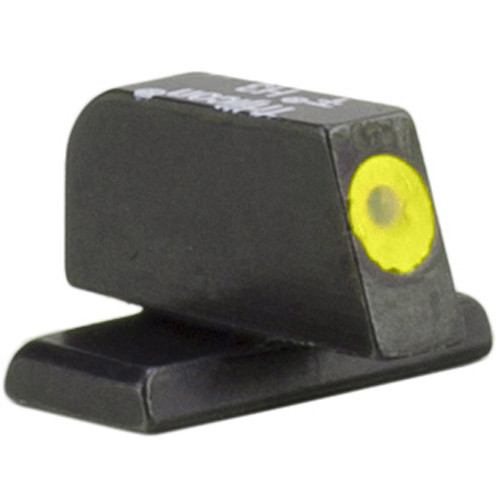 Trijicon HD XR Front Sight for Springfield Armory XD-S Pistols (Yellow Outline Disk, Matte Black)