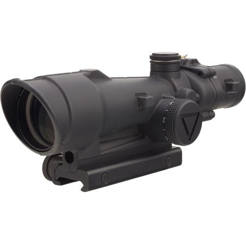 Trijicon 3.5x35 ACOG Riflescope (Green LED Illuminated .308 Horseshoe Reticle, With Thumbscrew Mount)