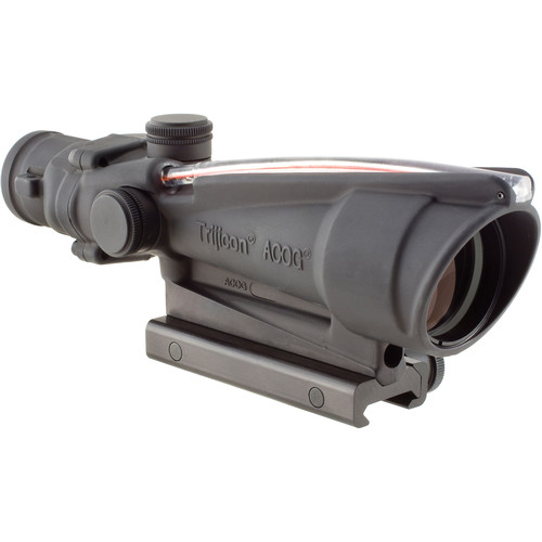 Trijicon 3.5x35 ACOG Dual-Illuminated Riflescope (Matte Black, 300 Blackout Red Crosshair)