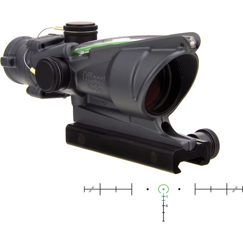 Trijicon 4x32 ACOG Riflescope with TA51 Mount ( Green Horseshoe/Dot Dual-Illuminated Reticle)
