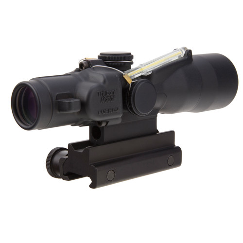 Trijicon 3x30 TA33 ACOG Riflescope (Amber Crosshair .223 Ballistic Reticle)