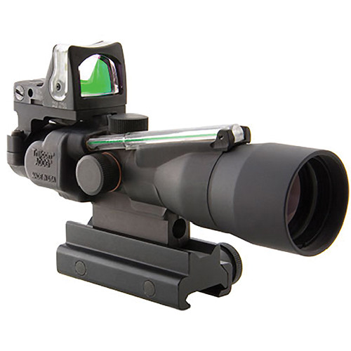 Trijicon 3x30 TA33G-8 ACOG Riflescope with RM05G RMR Reflex Sight