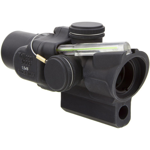 Trijicon 1.5x16S TA44-C ACOG Riflescope (2 MOA Green Ring-Dot Reticle, M16/AR-15 Mount)