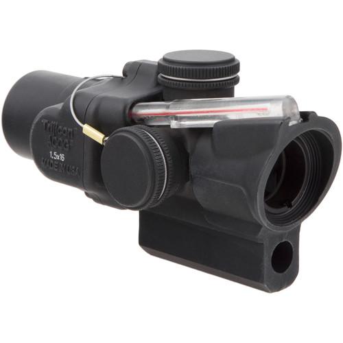 Trijicon 1.5x16S TA44-C ACOG Riflescope (2 MOA Red Ring-Dot Reticle, M16/AR-15 Mount)