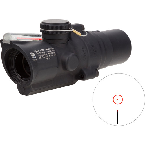 Trijicon 1.5x16S TA44-C ACOG Riflescope (2 MOA Red Ring-Dot Reticle)