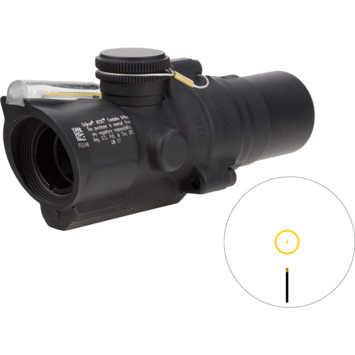 Trijicon 1.5x16S TA44-C ACOG Riflescope (2 MOA Amber Ring-Dot Reticle)