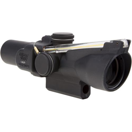Trijicon 1.5x24 TA45 ACOG Riflescope (8 MOA Amber Triangle)