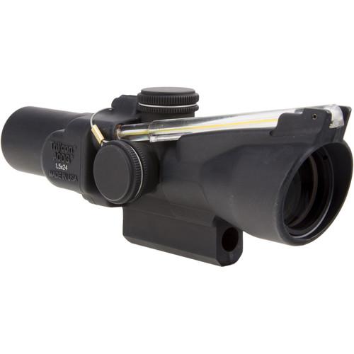 Trijicon 1.5x24 TA45 ACOG Riflescope (Amber Duplex Crosshair)