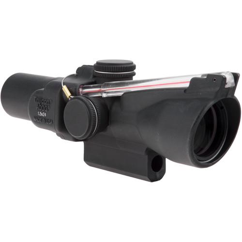 Trijicon 1.5x24 TA45 ACOG Riflescope (8 MOA Red Triangle)