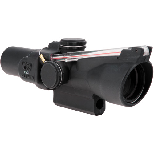 Trijicon 1.5x24 TA45 ACOG Riflescope (Red Duplex Crosshair)