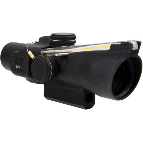 Trijicon 2x20 TA47 ACOG Riflescope (6.9 MOA Amber Dot Reticle)