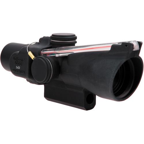 Trijicon 2x20 TA47 ACOG Riflescope (Red Duplex Crosshair Reticle)