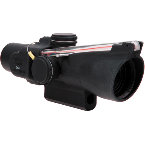 Trijicon 2x20 TA47 ACOG Riflescope (6.9 MOA Red Dot Reticle)