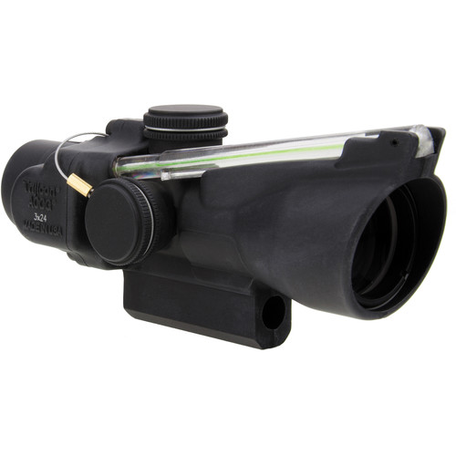 Trijicon 3x24 TA50 XB ACOG Crossbow Scope (Green Chevron 400-440+ fps BDC Reticle)