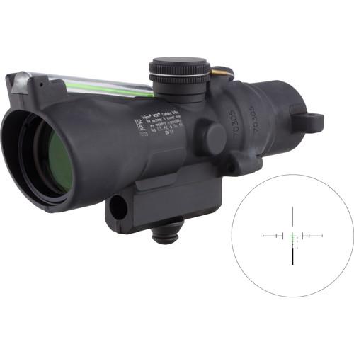 Trijicon 3x24 Compact ACOG Riflescope (Green Crosshair .223 / 55gr. Ballistic Reticle, M16 Carry Handle Base)