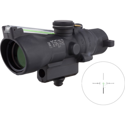 Trijicon 3x24 Compact ACOG Riflescope (Green Crosshair .223 / 55gr. Ballistic Reticle, M16 Carry Handle Base)