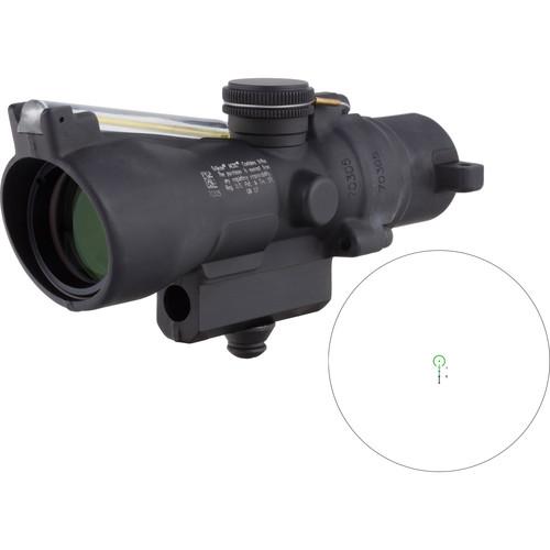 Trijicon 3x24 Compact ACOG Riflescope (Green Horseshoe/Dot .223 / 55gr. Ballistic Reticle, M16 Carry Handle Base)