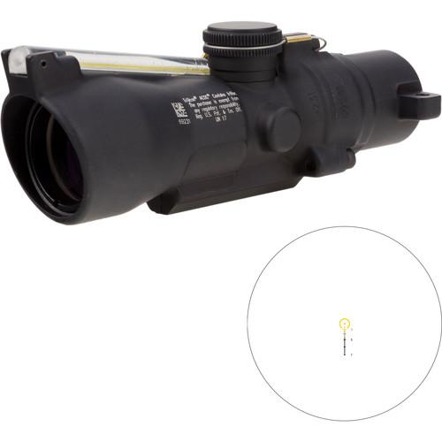 Trijicon 3x24 Compact ACOG Riflescope (Amber Horseshoe/Dot 7.62x39 / 123gr. Ballistic Reticle, Low Height)