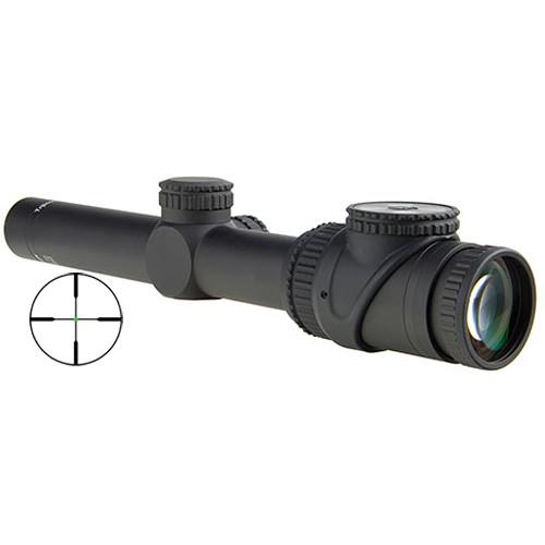 Trijicon 1-6x24 AccuPoint Riflescope (Green Standard Duplex Crosshair Reticle, Matte Black)