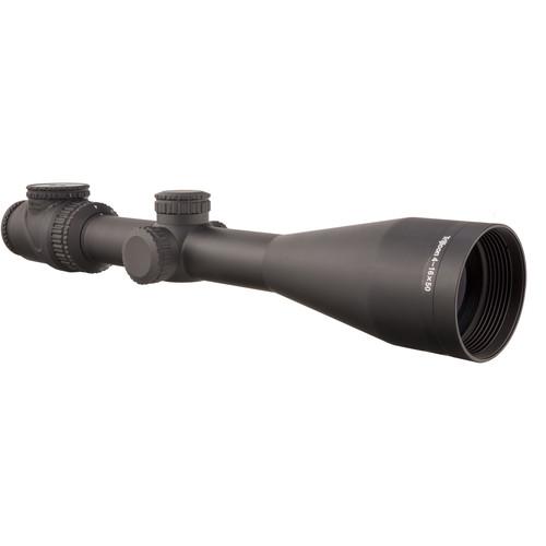 Trijicon 4-16x50 AccuPoint Riflescope (Green-Amber MIL-Dot Crosshair Reticle, Matte Black)