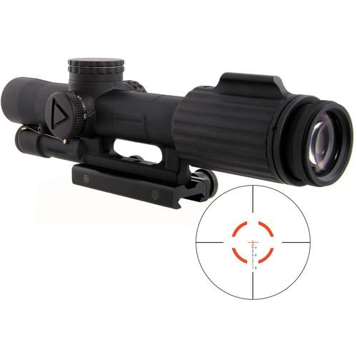 Trijicon 1-6x24 VCOG Riflescope (Red Segmented Circle .223/55 Reticle, Thumbscrew Mount)