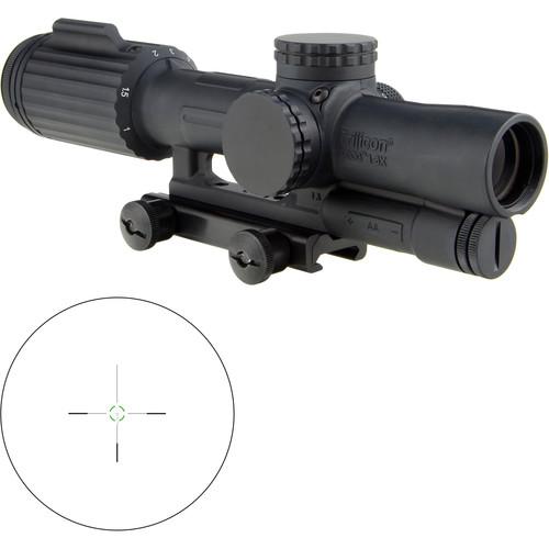 Trijicon 1-6x24 VCOG Riflescope (Green Segmented Circle 300 BLK Reticle, Thumbscrew Mount)
