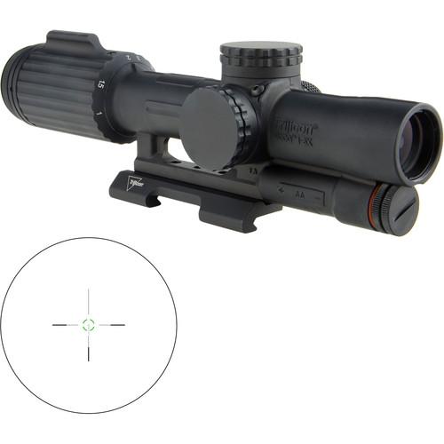 Trijicon 1-6x24 VCOG Riflescope (Green Segmented Circle .308/175 Reticle, Quick Release Mount)