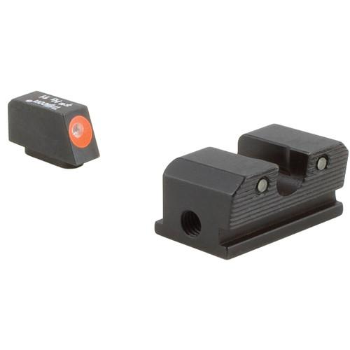 Trijicon HD Night Sight Set for Walther P99/PPQ Pistol (Orange Front Disk, Matte Black)