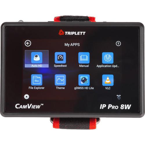 Triplett CamView IP Pro-8W HD CCTV Tester