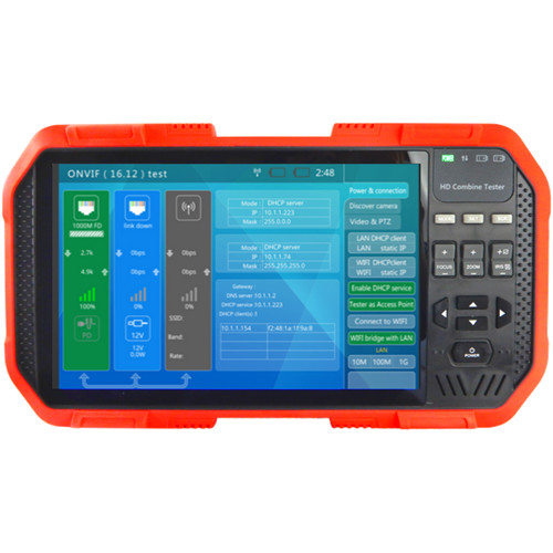 Triplett CamView IP Pro-X Full Touch Screen Display Security Camera Tester
